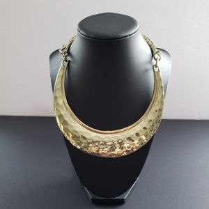 Jewelry - Medieval Armour Look Faux Gold Choker